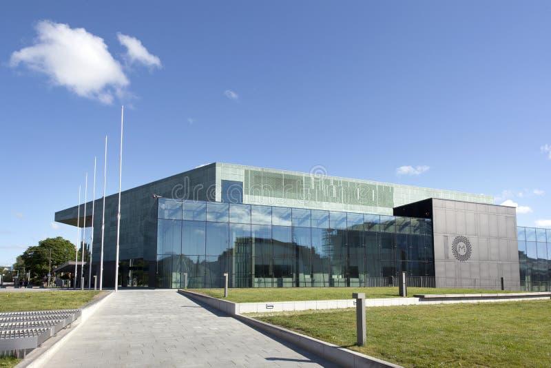 Centro de música de Helsínquia fotos de stock royalty free