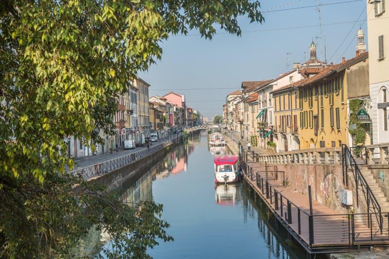 Centro de Milán foto de archivo