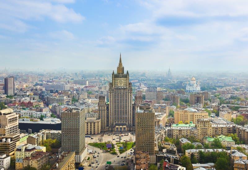 Centro de Moscovo, Rússia fotos de stock royalty free
