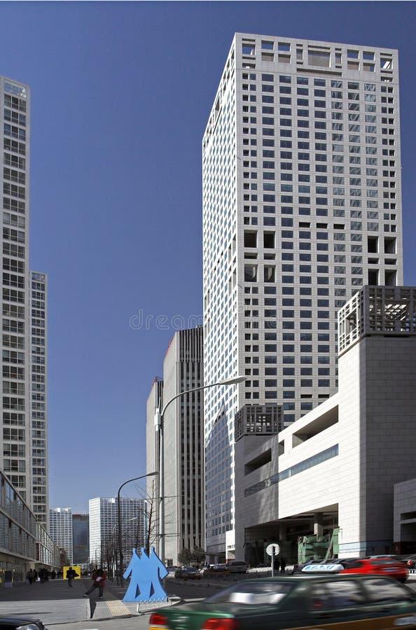 Centro de negócio de Beijing   imagem de stock royalty free