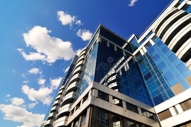 Centro de negócio moderno novo foto de stock royalty free