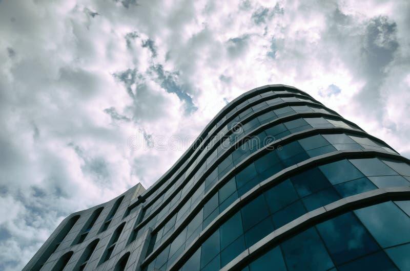Centro de negócios moderno no coração de Odessa fotos de stock royalty free