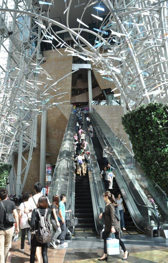 Centro de negocios de Hong-Kong fotos de archivo