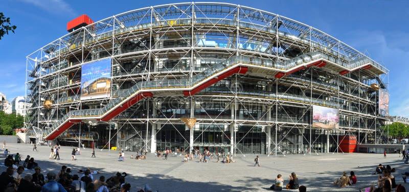 Centro de Pompidou fotos de stock