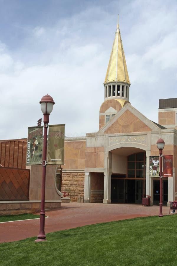 Centro de Ritchie - universidad de Denver imagen de archivo libre de regalías