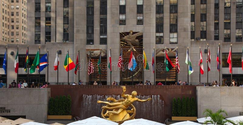 Centro de Rockefeller foto de stock royalty free