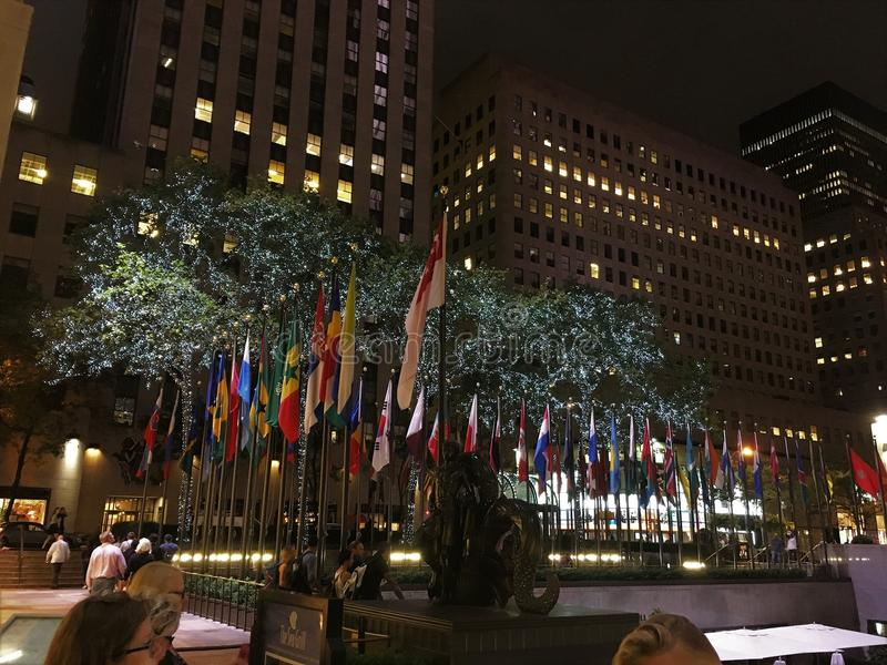 Centro de Rockefeller, Nueva York fotos de archivo