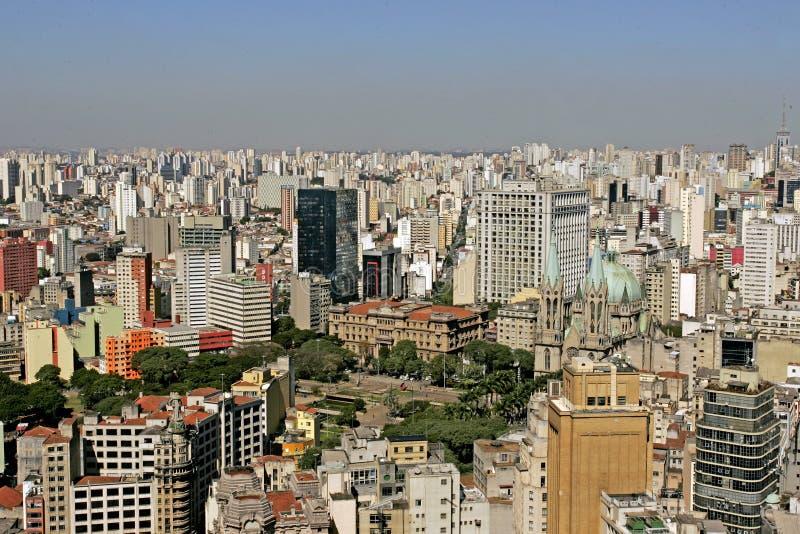 Centro de Sao Paulo fotos de stock