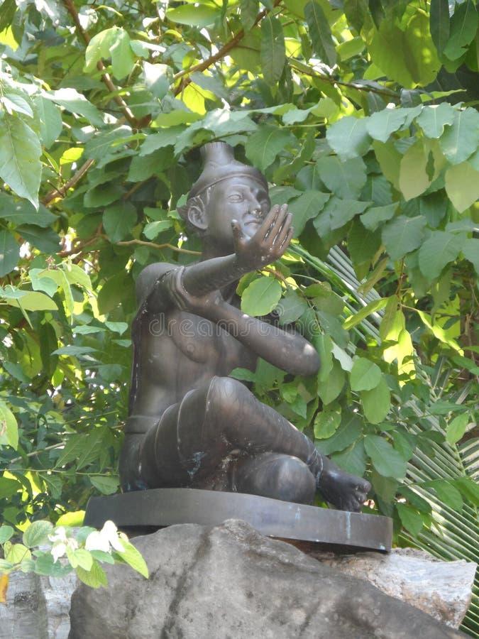 Centro de servicio de Wat Pho Thai Massage School imagen de archivo