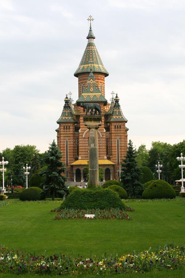 Centro de Timisoara imagens de stock royalty free