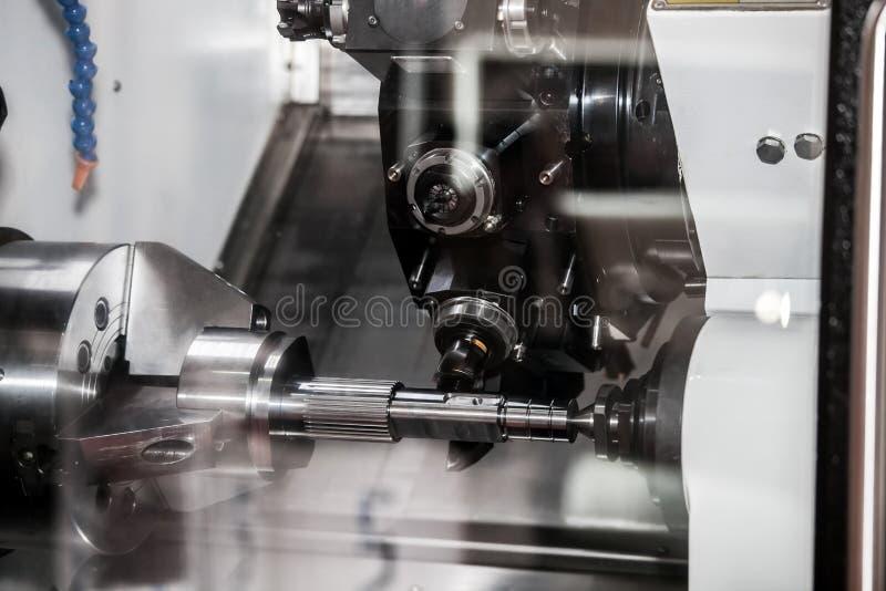 Centro degiro horizontal do CNC imagem de stock