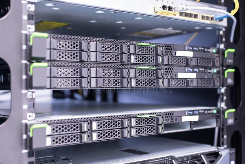 centro del almacenamiento de datos imagen de archivo libre de regalías