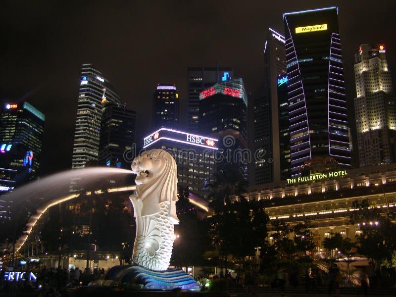 Centro del centro Amazying Archtecture di Singapore fotografie stock libere da diritti