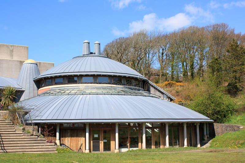 Centro del arte de la universidad de Aberystwyth fotos de archivo libres de regalías