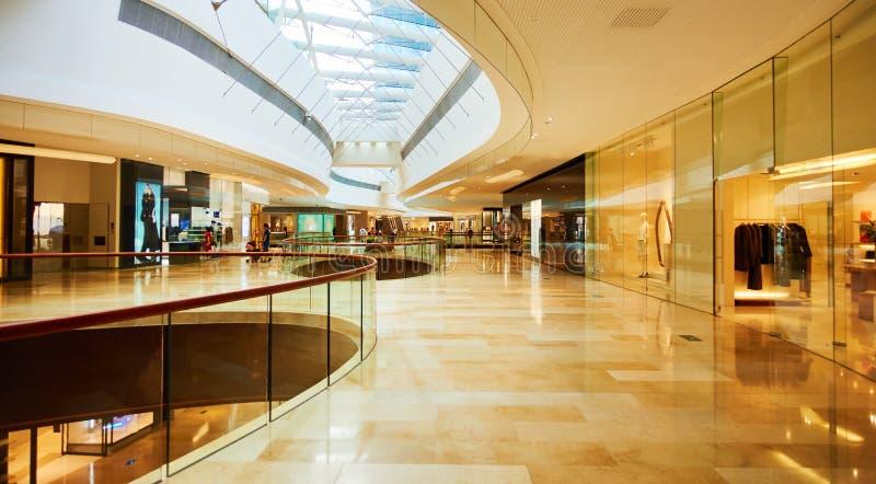 Centro del centro commerciale fotografia stock libera da diritti