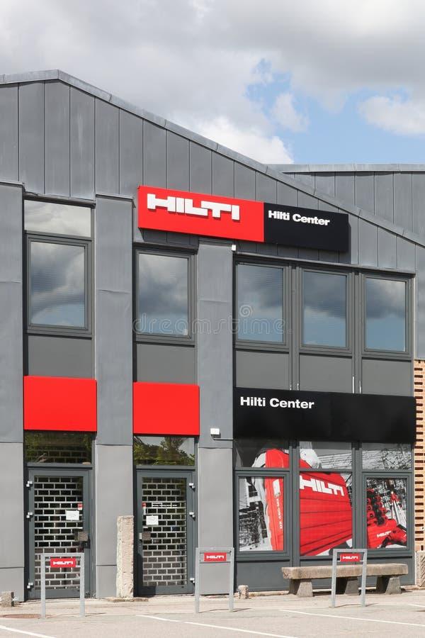 Centro del deposito di Hilti fotografia stock libera da diritti