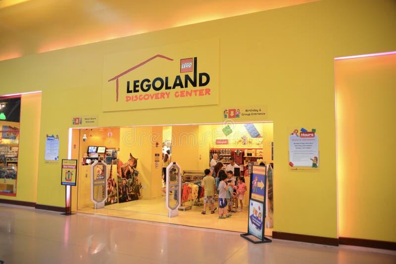 Centro del descubrimiento de Legoland, vid Dallas Fort Worth imágenes de archivo libres de regalías