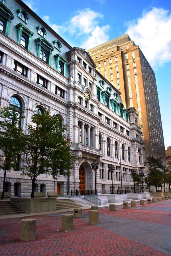 Centro del gobierno, Boston imagen de archivo libre de regalías
