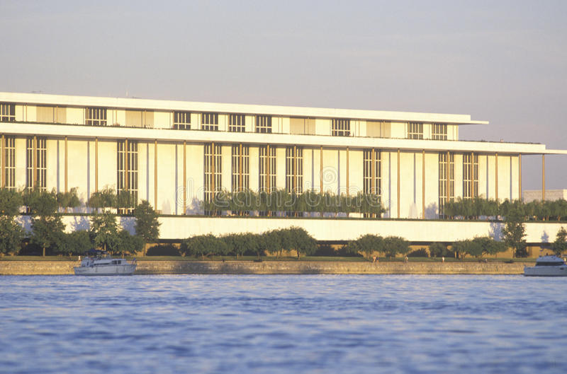 Centro del Kennedy per le arti dello spettacolo fotografia stock libera da diritti