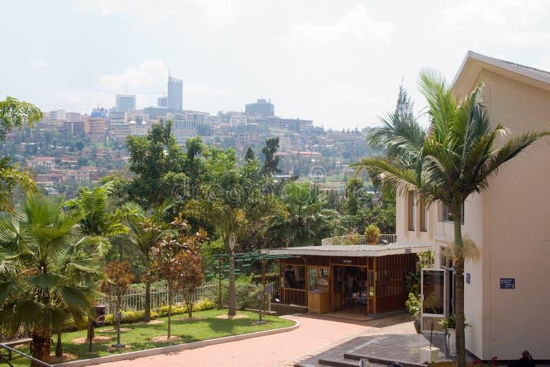Centro del monumento del genocidio de Kigali imágenes de archivo libres de regalías