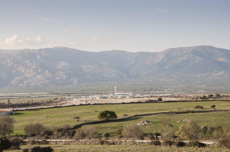 Centro del penitenziario di Soto del Real immagine stock