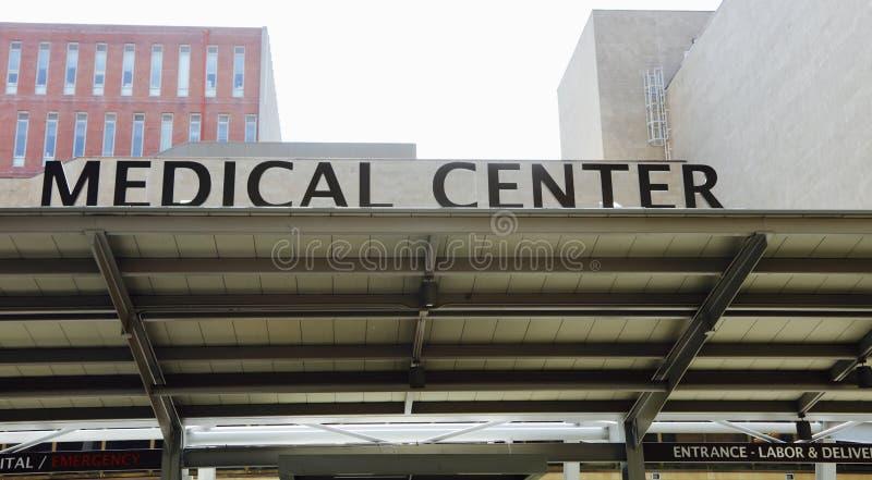 Centro del tratamiento médico fotos de archivo