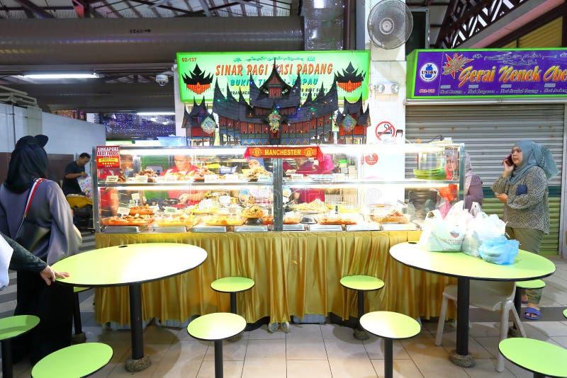 Centro del vendedor ambulante de Singapur fotografía de archivo libre de regalías
