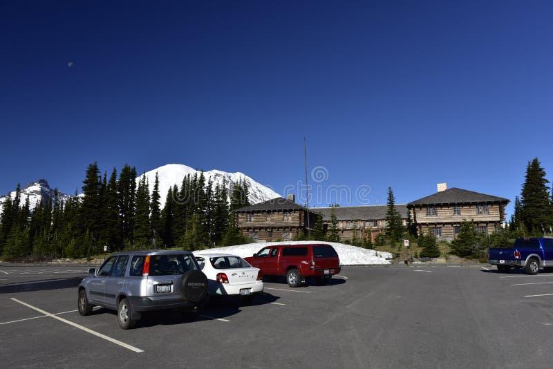 Centro del visitante de la salida del sol, Mt Rainier Area, los E.E.U.U. imagen de archivo libre de regalías