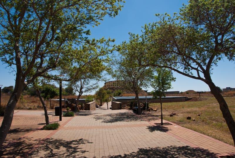 Centro del visitante de Maropeng foto de archivo libre de regalías