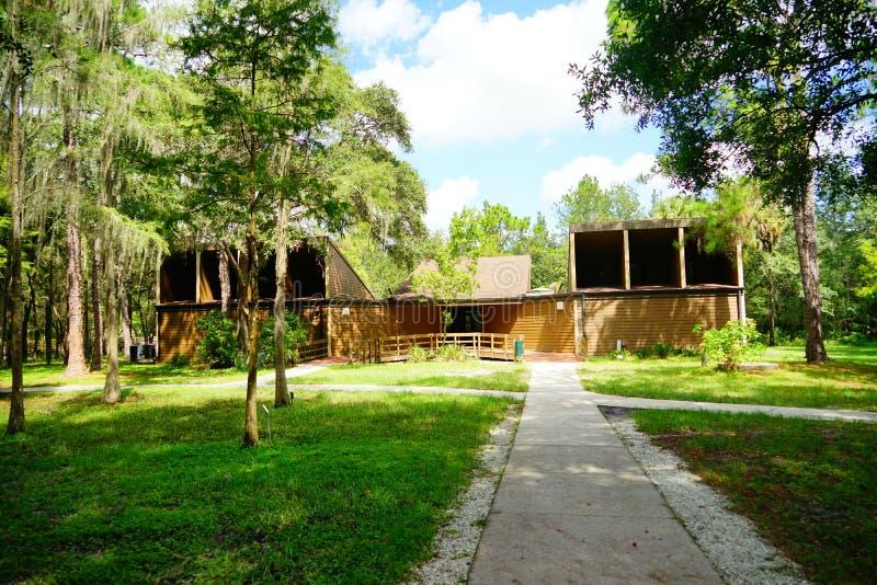 Centro del visitante del parque del lago lettuce fotos de archivo libres de regalías