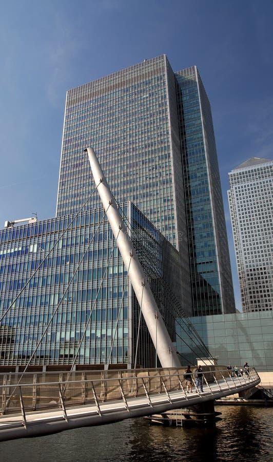 Centro di affari di Londra immagine stock