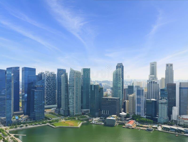 Centro di affari di Singapore immagine stock libera da diritti