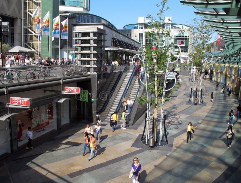 Centro di commercio mondiale a Rotterdam fotografie stock