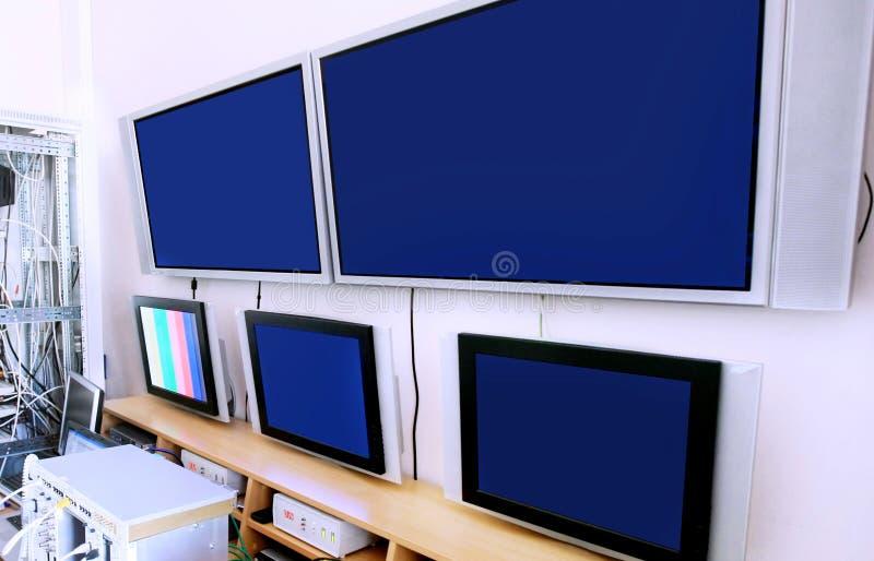 Centro di controllo immagini stock