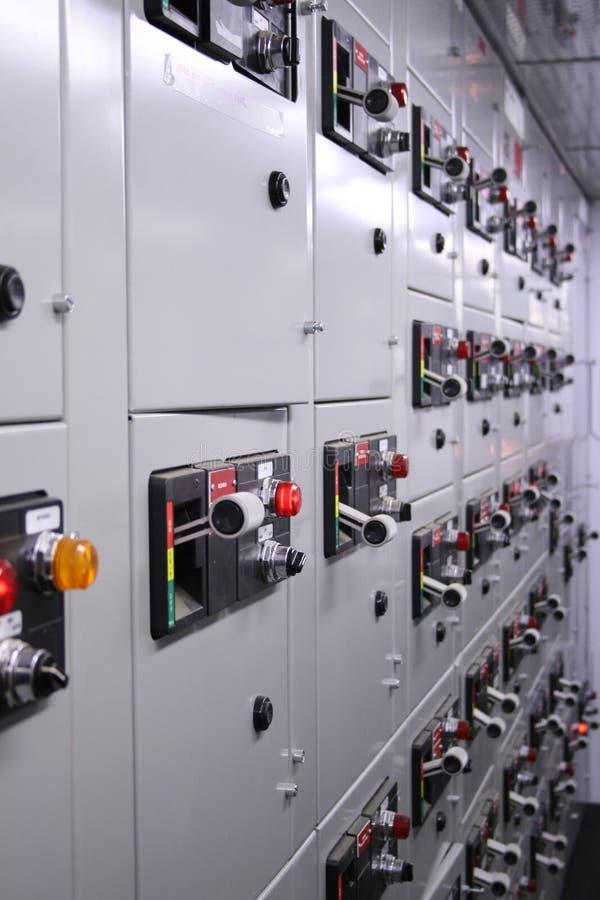 Centro di controllo del motore fotografia stock libera da diritti