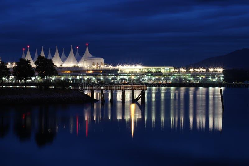centro di convenzione di Vancouver immagini stock libere da diritti