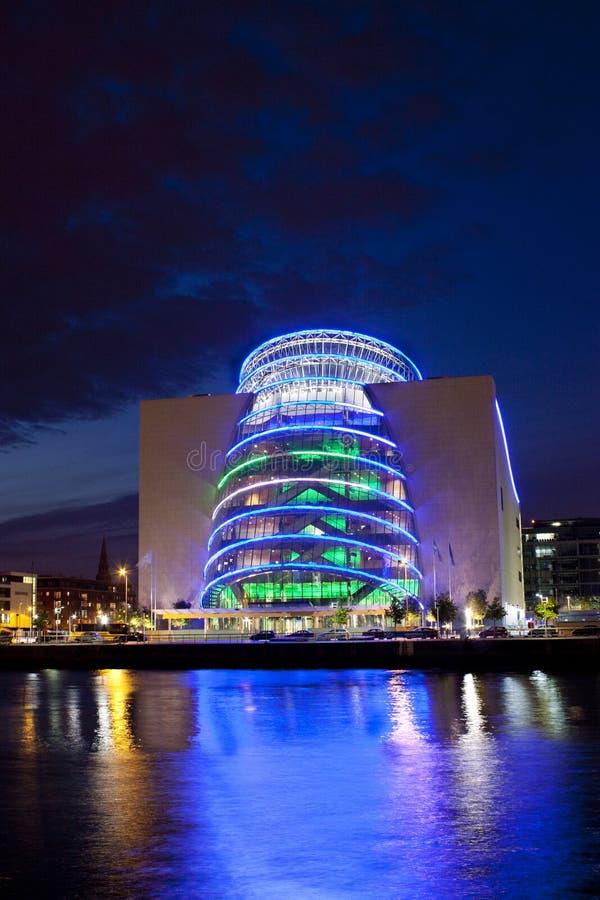Centro di convenzione, Dublino fotografie stock libere da diritti