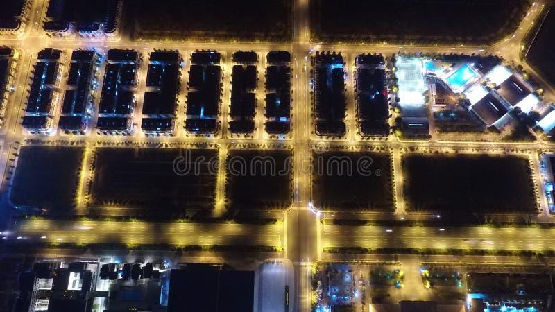 Centro di costruzione alla nuova citt? Thu Dau Mo fotografie stock