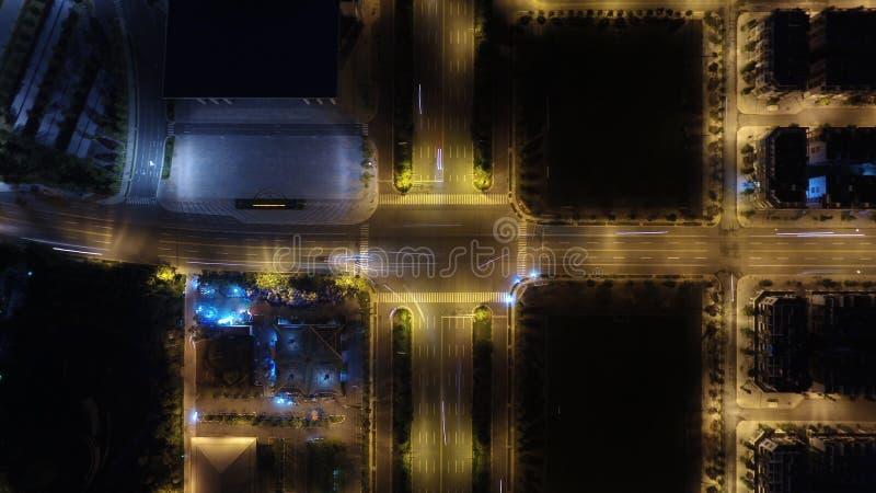 Centro di costruzione alla nuova citt? Thu Dau Mo immagini stock