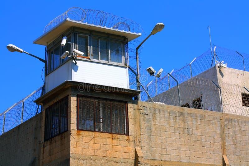 Centro di detenzione di Abu Kabir fotografie stock libere da diritti