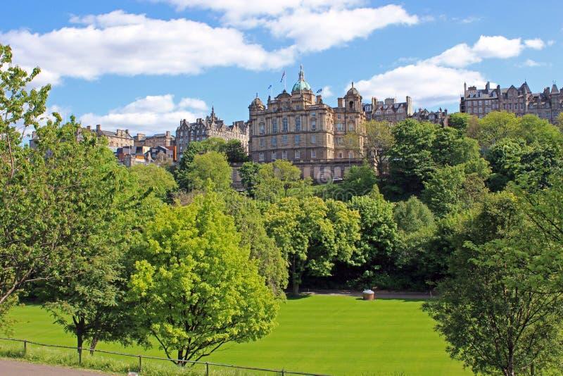 Centro di Edimburgo, Scozia fotografia stock libera da diritti