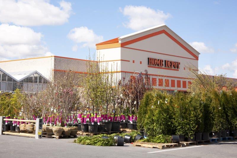 Centro di giardino del Home Depot immagini stock libere da diritti