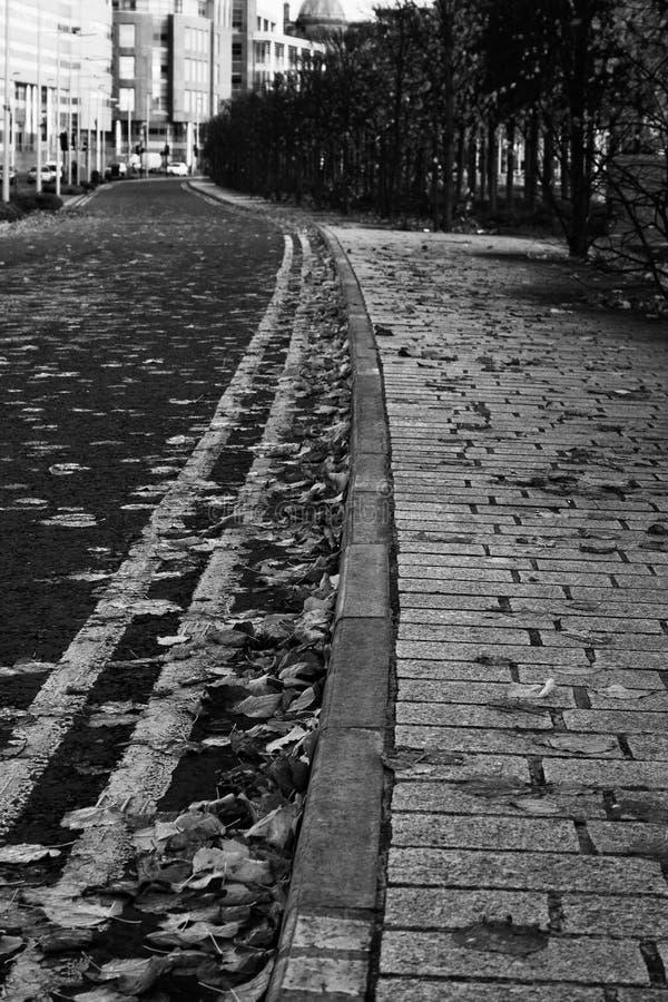 Centro di Glasgow City immagine stock libera da diritti