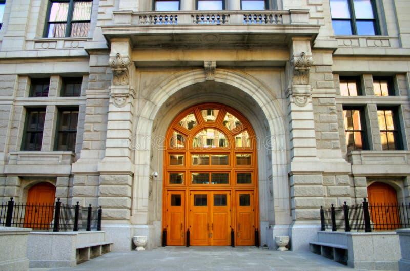 Centro di governo, Boston immagini stock