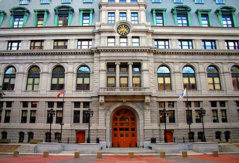 Centro di governo, Boston fotografia stock libera da diritti