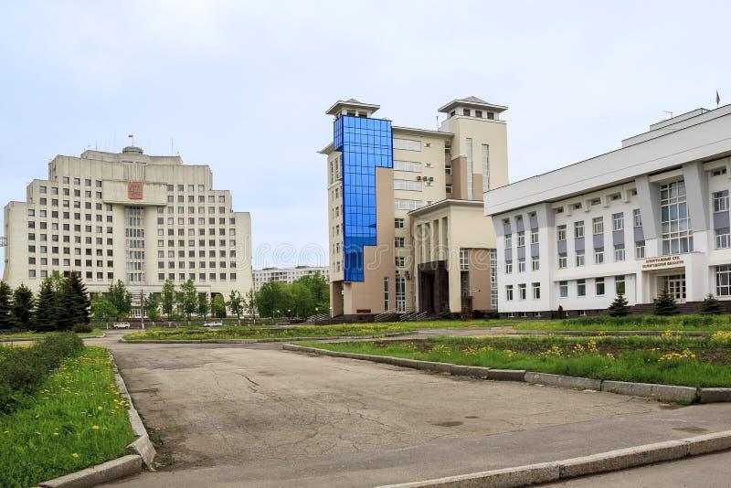 Centro di governo in Vologda fotografia stock libera da diritti