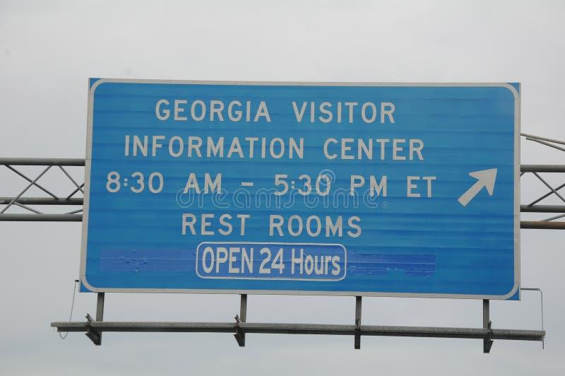 Centro di ifnrotmation degli ospiti di Georgia fotografia stock