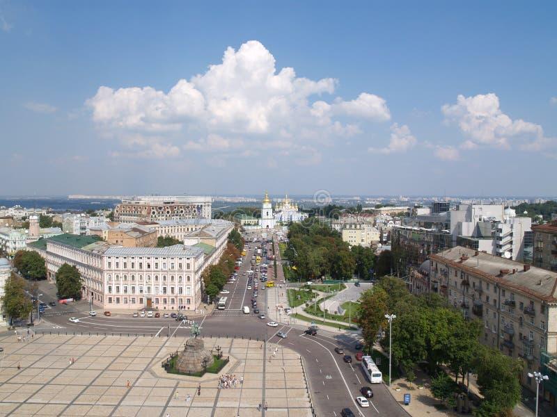 Centro di Kiev immagini stock libere da diritti
