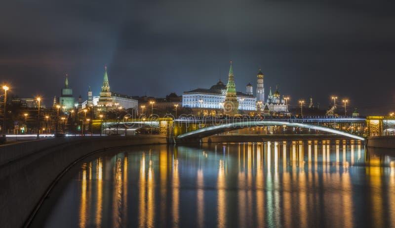 Centro di Mosca fotografie stock libere da diritti