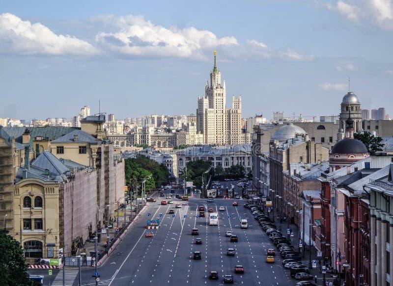Centro di Mosca immagini stock